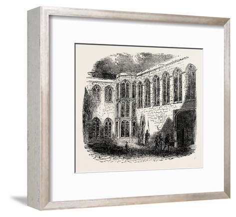 Crosby Place the Palace of Richard III--Framed Art Print