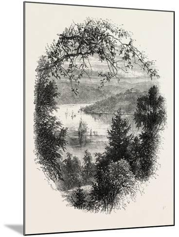 West Point, on the Hudson, New York, USA, 1870s--Mounted Giclee Print