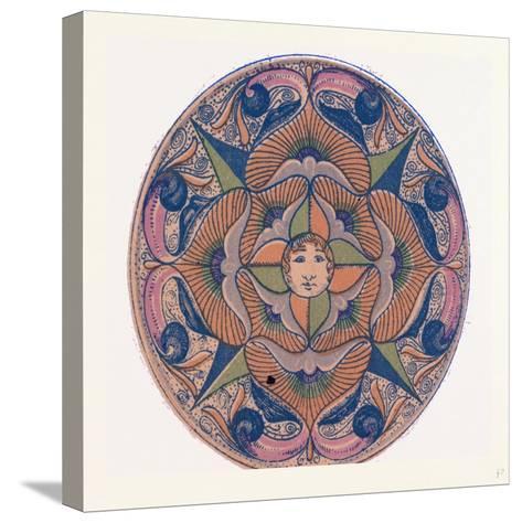Renaissance Ornament--Stretched Canvas Print