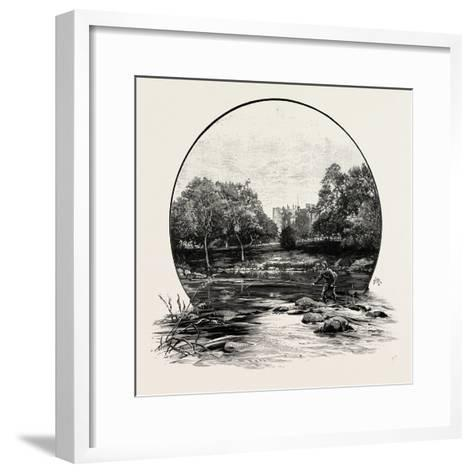 Haughton Castle, UK--Framed Art Print
