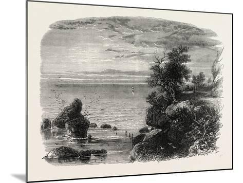 View on the Coast of Massachusetts, USA, 1870s--Mounted Giclee Print