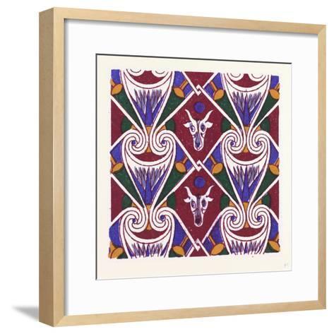 Egyptian Ornament--Framed Art Print