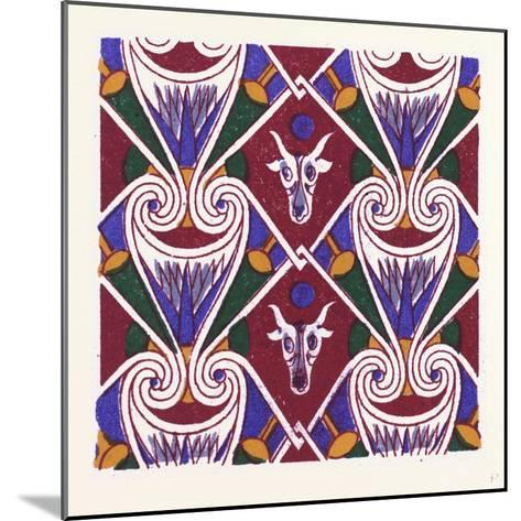 Egyptian Ornament--Mounted Giclee Print