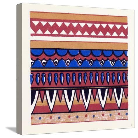 Egyptian Ornament--Stretched Canvas Print