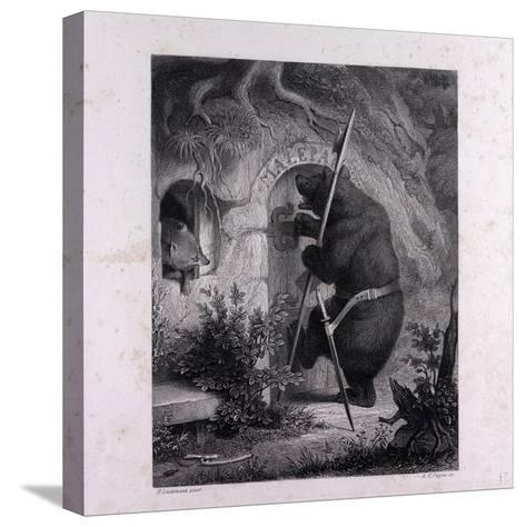 Bruin as Messenger--Stretched Canvas Print