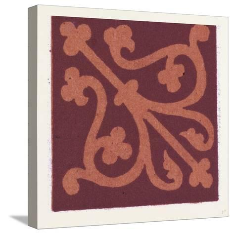 Medieval Ornament--Stretched Canvas Print