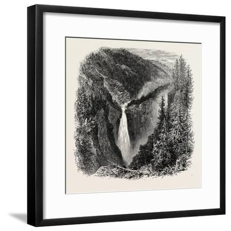 The Rjukanfos--Framed Art Print