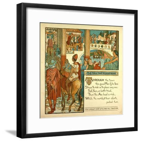 The Man That Pleased None--Framed Art Print