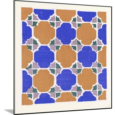 Moresque Ornament--Mounted Giclee Print