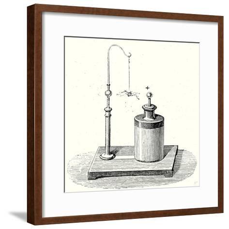 Electric Spider--Framed Art Print