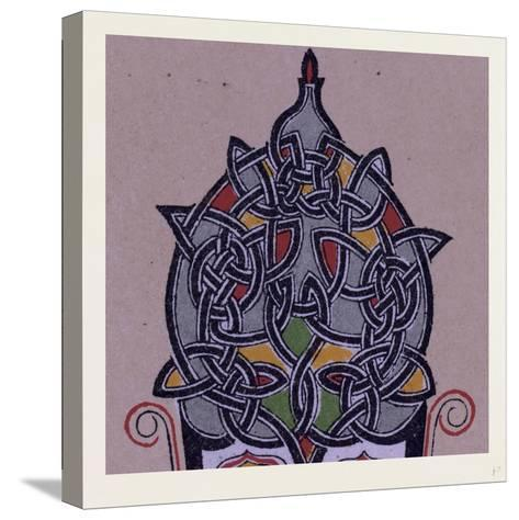 Celtic Ornament--Stretched Canvas Print