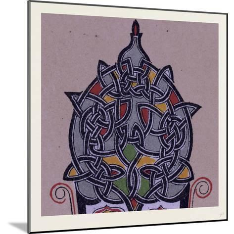 Celtic Ornament--Mounted Giclee Print