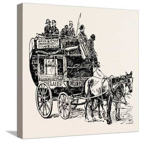 An Omnibus--Stretched Canvas Print