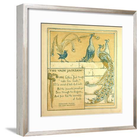 The Vain Jackdraw--Framed Art Print