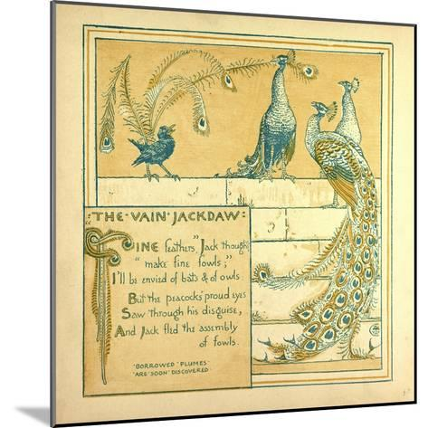 The Vain Jackdraw--Mounted Giclee Print