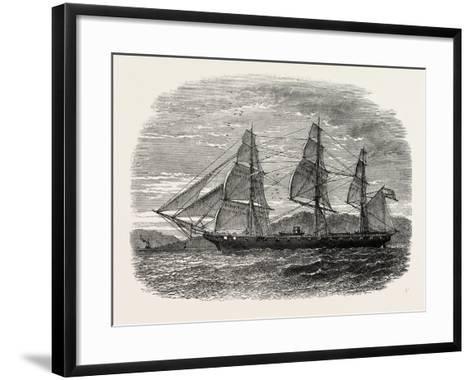 The Hartford (Admiral Farragut's Flag-Ship), USA, 1870s--Framed Art Print