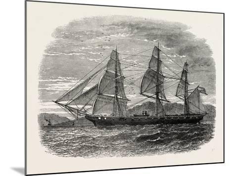 The Hartford (Admiral Farragut's Flag-Ship), USA, 1870s--Mounted Giclee Print