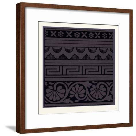 Indian Ornament--Framed Art Print