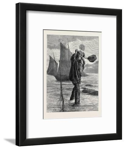 Sea--Framed Art Print