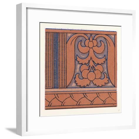 Renaissance Ornament--Framed Art Print