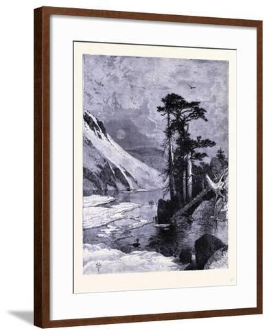 Frozen Lake Fort Seen from James Peak United States of America--Framed Art Print