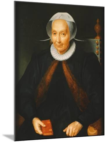 Portrait of an Elderly Lady, 1615--Mounted Giclee Print