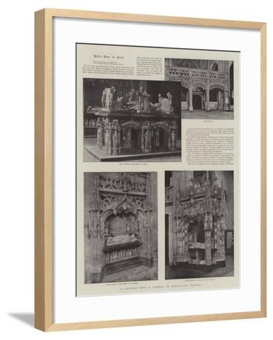 A Holiday with a Camera in South-East France--Framed Art Print