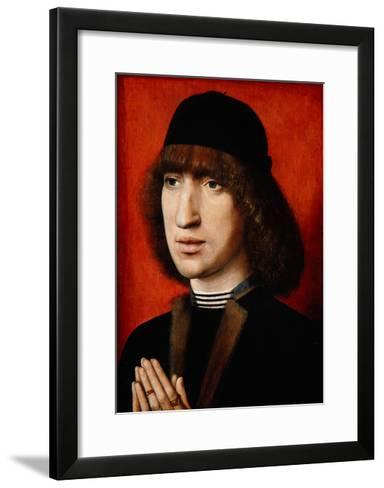 Portrait of a Man, C.1480-90--Framed Art Print