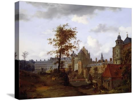 Coudenberg Palace, Brussels--Stretched Canvas Print