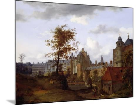 Coudenberg Palace, Brussels--Mounted Giclee Print