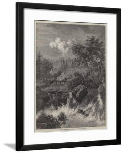 Landscape, with Water--Framed Art Print
