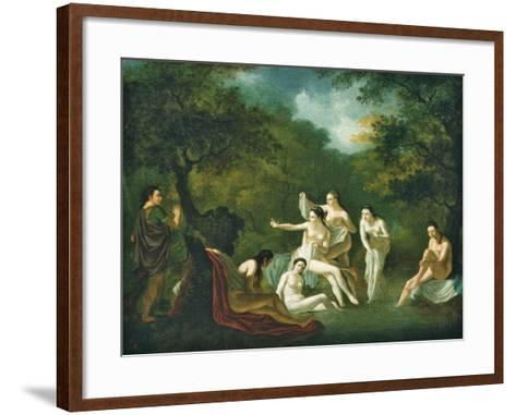Diana and Actaeon--Framed Art Print