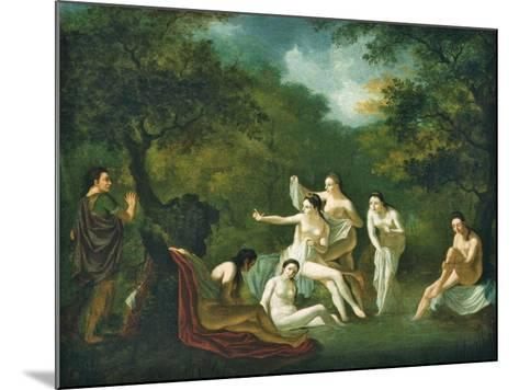 Diana and Actaeon--Mounted Giclee Print