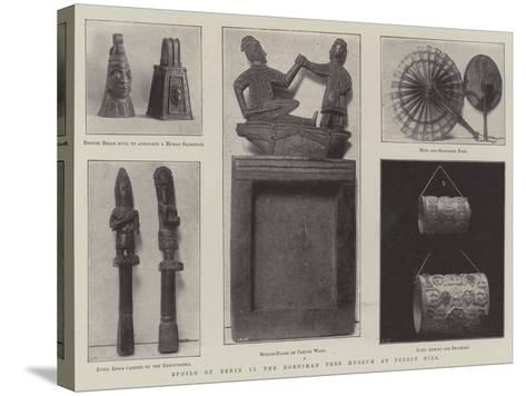 Spoils of Benin in the Horniman Free Museum at Forest Hill--Stretched Canvas Print