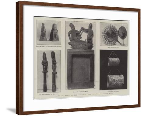 Spoils of Benin in the Horniman Free Museum at Forest Hill--Framed Art Print