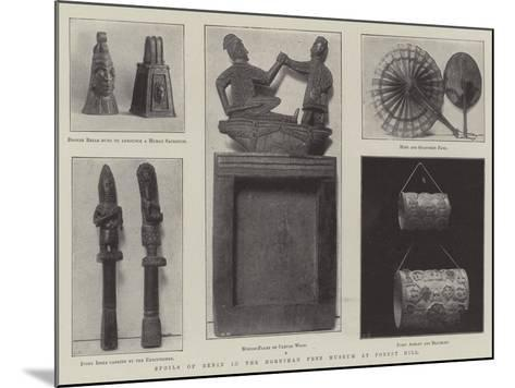 Spoils of Benin in the Horniman Free Museum at Forest Hill--Mounted Giclee Print