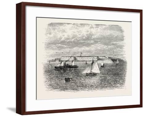 Fort Warren, USA, 1870s--Framed Art Print