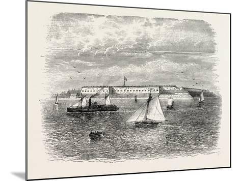 Fort Warren, USA, 1870s--Mounted Giclee Print
