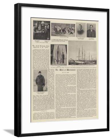 The Second Norwegian Polar Expedition in the Fram--Framed Art Print