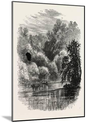 View on the Brandywine, USA, 1870s--Mounted Giclee Print