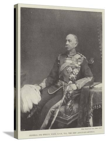 General Sir Evelyn Wood, the New Adjutant-General--Stretched Canvas Print