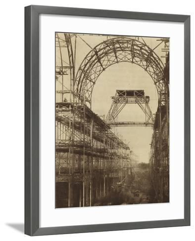 The Nave with the Intersection of the North Transept--Framed Art Print