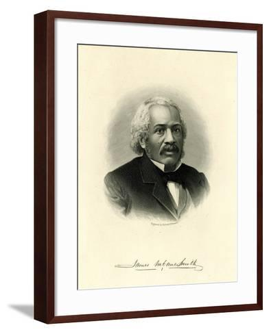 James Mccune Smith--Framed Art Print