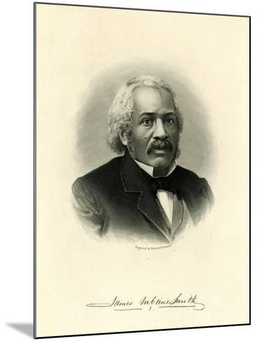 James Mccune Smith--Mounted Giclee Print