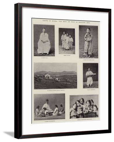 Views in Corea, the Seat of War in Eastern Asia--Framed Art Print