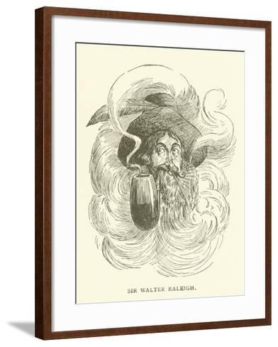 Sir Walter Raleigh--Framed Art Print