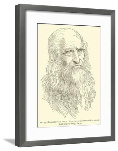 Leonardo Da Vinci--Framed Art Print