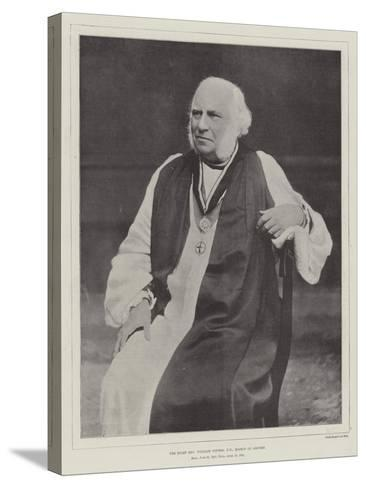 The Right Reverend William Stubbs, Dd, Bishop of Oxford--Stretched Canvas Print