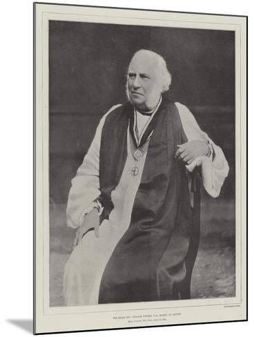 The Right Reverend William Stubbs, Dd, Bishop of Oxford--Mounted Giclee Print