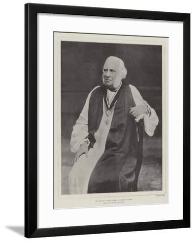 The Right Reverend William Stubbs, Dd, Bishop of Oxford--Framed Art Print